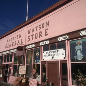Carcross Matthew Watson General Store